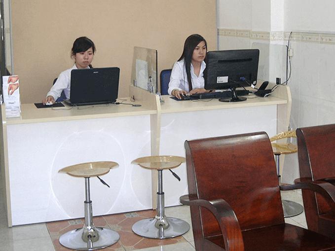 Chia sẻ văn phòng - Lễ tân chuyên nghiệp